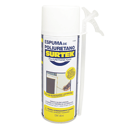Espuma de poliuretano uso industrial 300 ml Surtek 113500