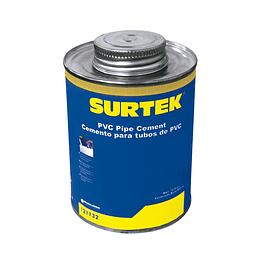 Cemento para tubo PVC 473ml Surtek 121132