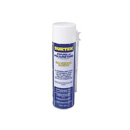 Espuma de poliuretano uso general 500 ml Surtek 113521