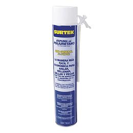 Espuma de poliuretano uso general 750 ml Surtek 113522