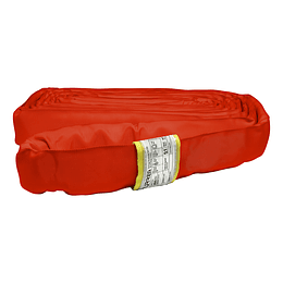 Eslinga redonda sin-fin color rojo, largo 3 metros Urrea ER63