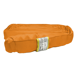 Eslinga redonda sin-fin color naranja, largo 4 metros Urrea ER74