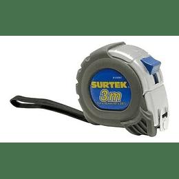 "Flexómetro anti impacto silver 1"" x 8m"