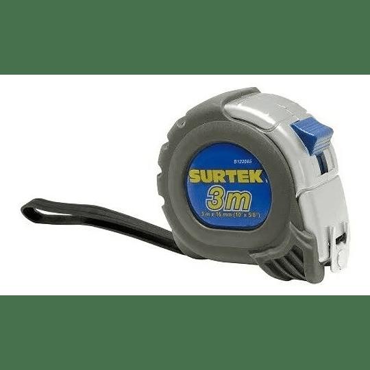 Flexómetro anti impacto silver 1
