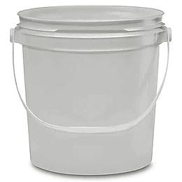 Cubetas blancas 1 galon c/tapa 355-09-01-058