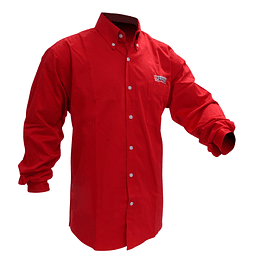 Camisa roja manga larga Urrea talla CH Urrea CAML201C