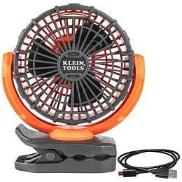 Ventilador personal recargable gira 360° PJSFM1