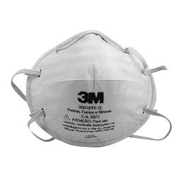 20 Piezas Respirador para Partículas 3M PFF2 8801 8801