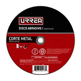 """Disco t/27 metal 9x1/8"""" gral Urrea AMCD09"""