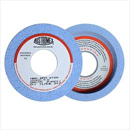 Rueda azul vitrificada para rectificado de acero 4 Piezas 917
