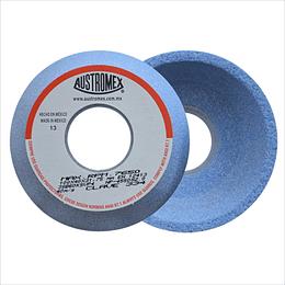 Rueda azul vitrificada para rectificado de acero 334