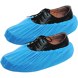 Par de Cubre Zapato Azul con Plantilla Antiderrapante