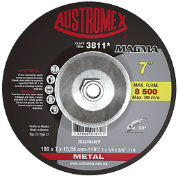 Disco Abrasivo Desbaste 3811 Austromex
