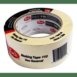 """Cinta Masking Tape 2"""" 48 mm X 50 m. Tuk"""