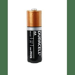 Pila Alcalina AA Duracell MN1500 (1 pieza)