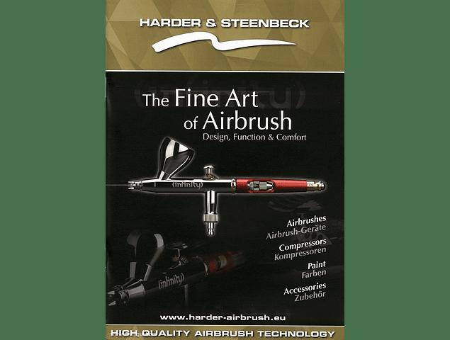 Catálogo de aerógrafos Harder & Steenbeck