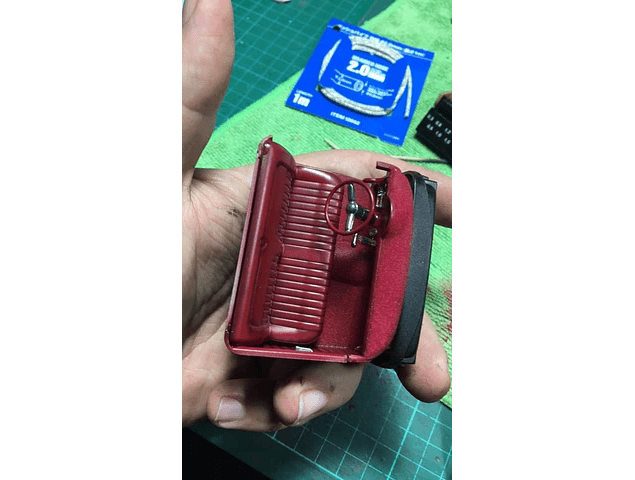 Red Leather Design
