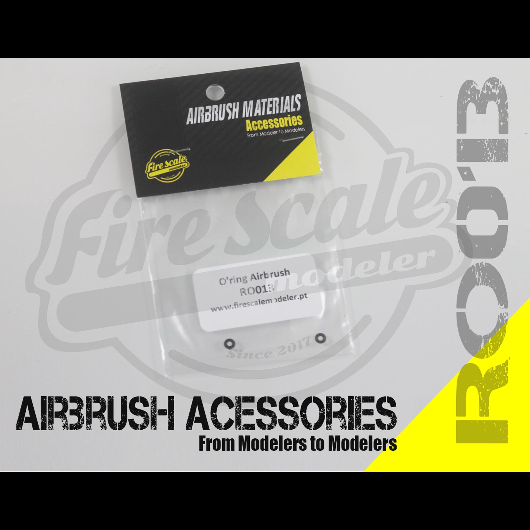 O'ring airbrush 3x0.6mm