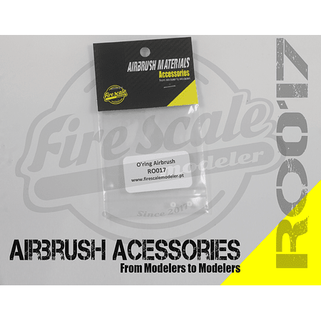 O'ring airbrush 3.2x1.7mm