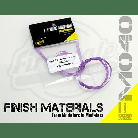 Sealt Belt Light Purple 3mm