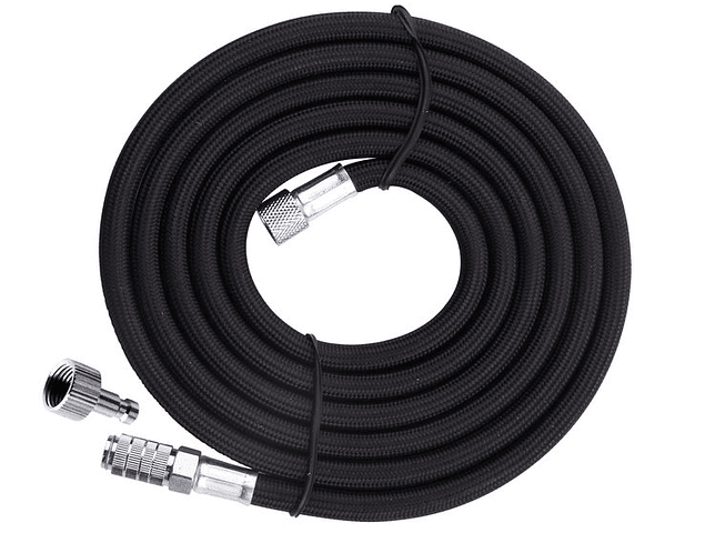 Airbrush hose black with quick coupling 3m - G1 / 8