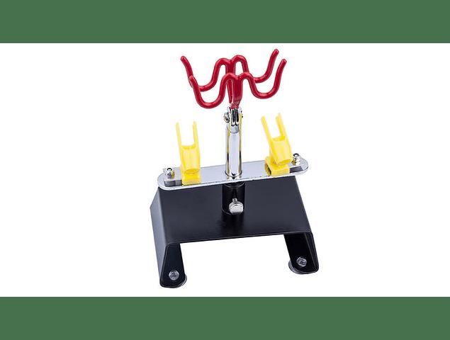 Porta aerógrafo modelo de mesa