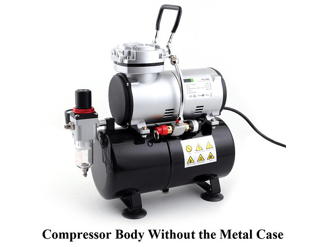 Airbrush mini compressor AS-186A