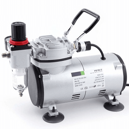 AS18-2 mini compressor airbrush
