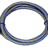 Manguera de aire azul 1,80m - G1 / 8 - G1 / 8