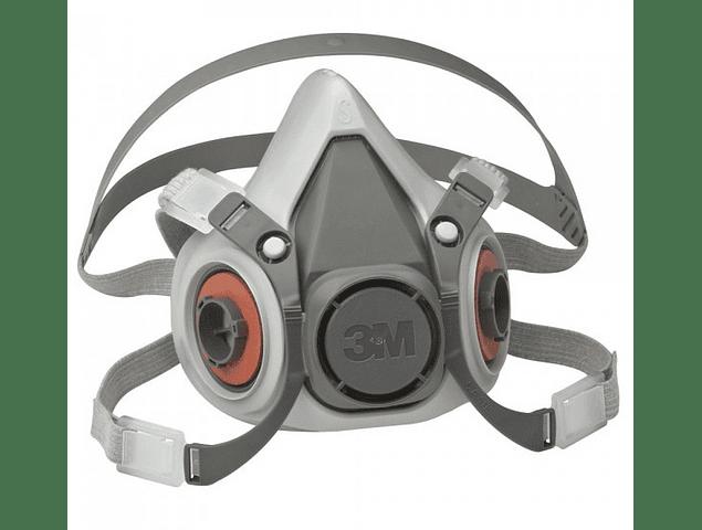Máscara semifacial de la serie 3M ™ 6000
