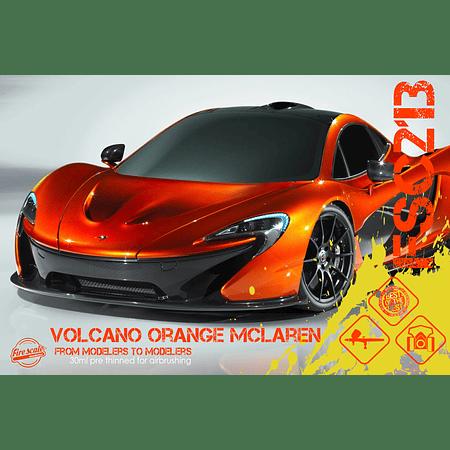 Volcano Orange Mclaren