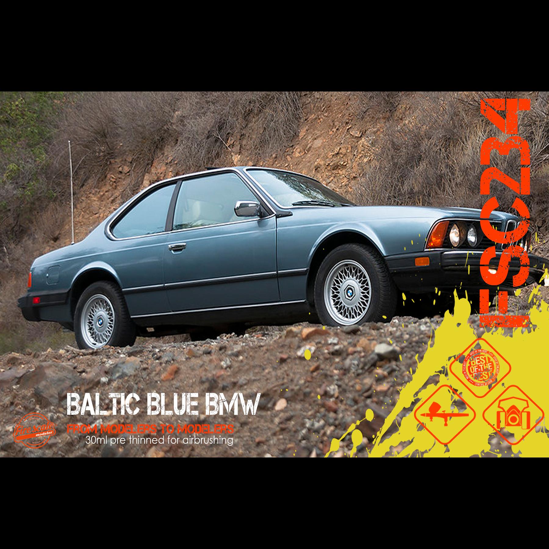 BMW bleu baltique