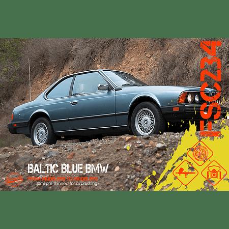 BMW azul báltico