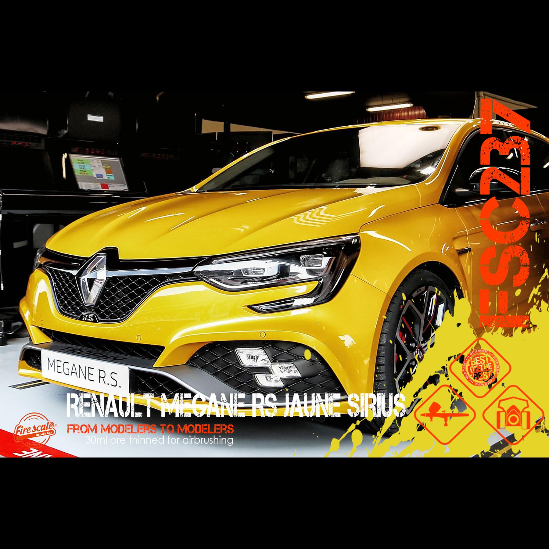 Jaune Sirius Renault