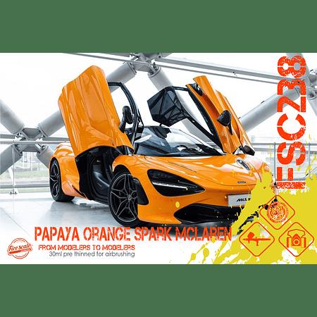 Papaya Orange Spark McLaren