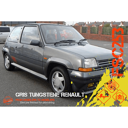 Gris Tungsteno Renault