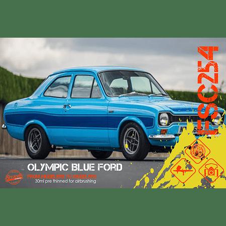 Ford bleu olympique