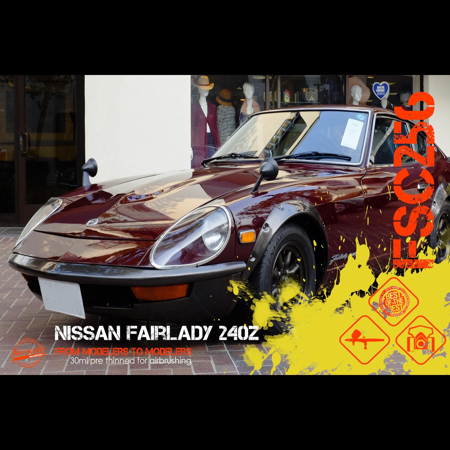 Nissan Fairlady 240Z Maroon