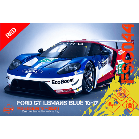 Ford GT Lemans Rouge 16-17