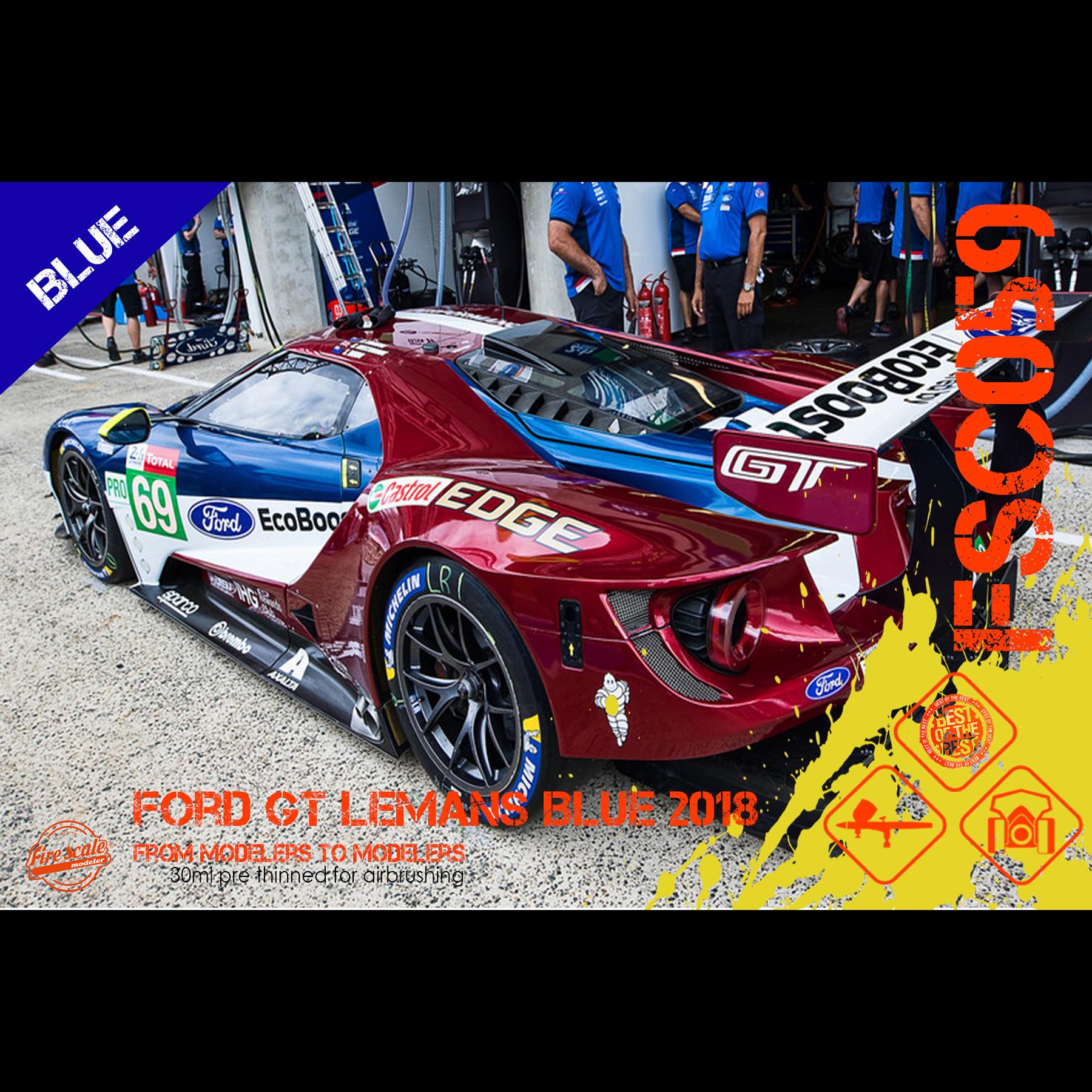 Ford GT Le mans 2018 Blue