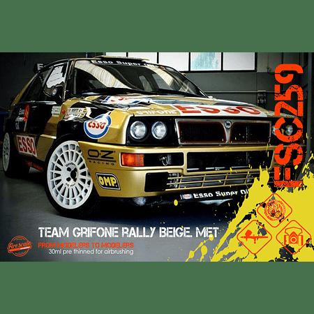 Equipo Grifone Rally Beige. Reunió
