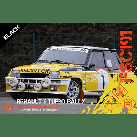 Renault 5 Turbo Rally - Black