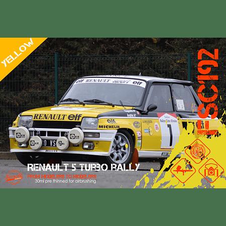 Renault 5 Turbo Rally - Yellow