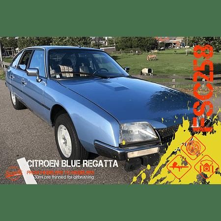 Citroen Blue Regatta