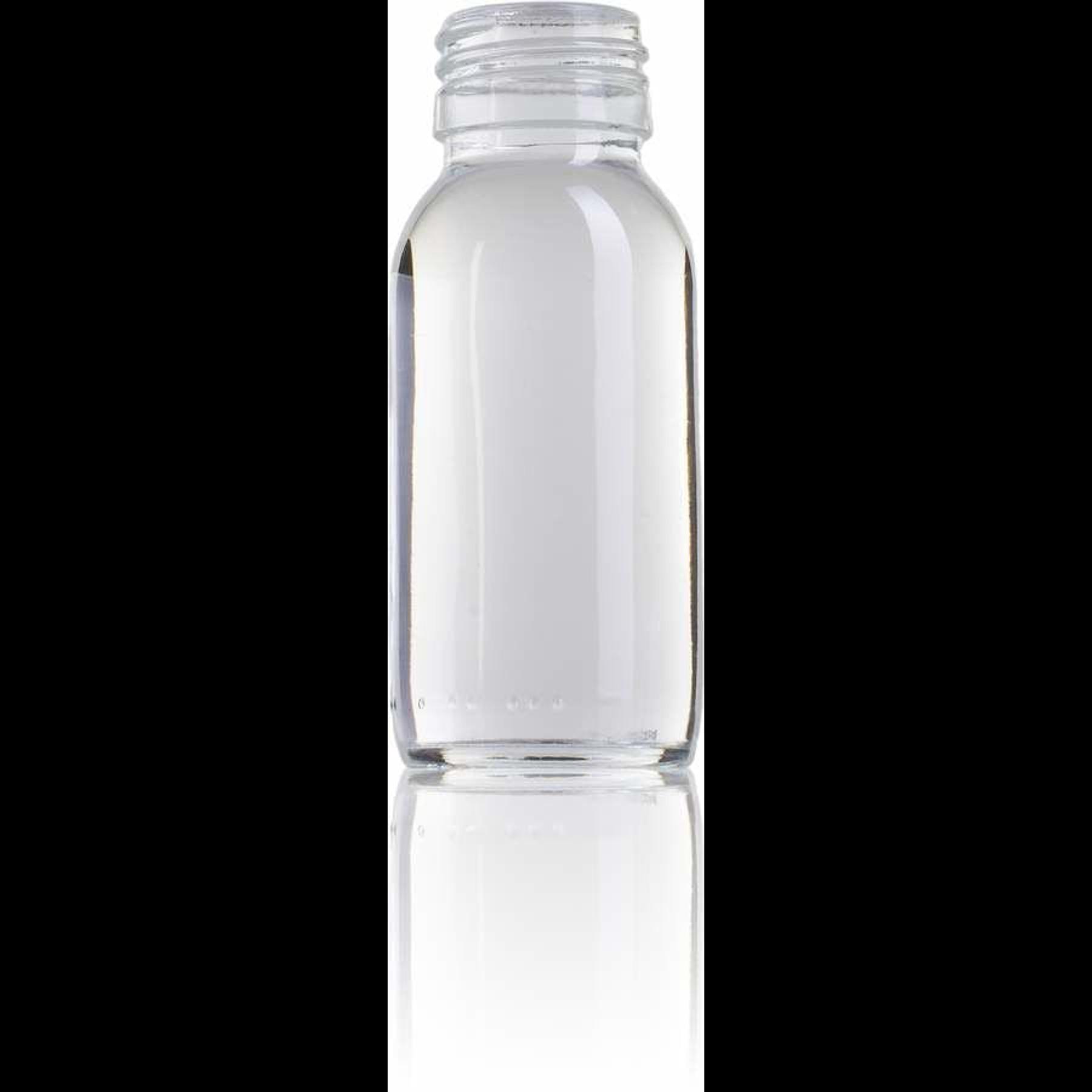 Bouteille en verre de 60 ml