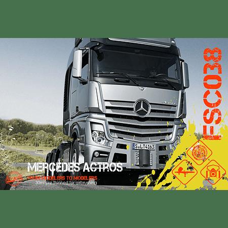 Mercedes Actros Silver