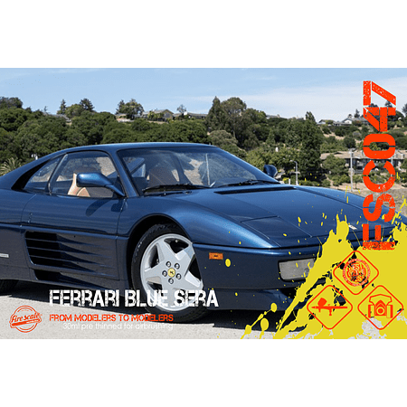 Blue Sera Ferrari