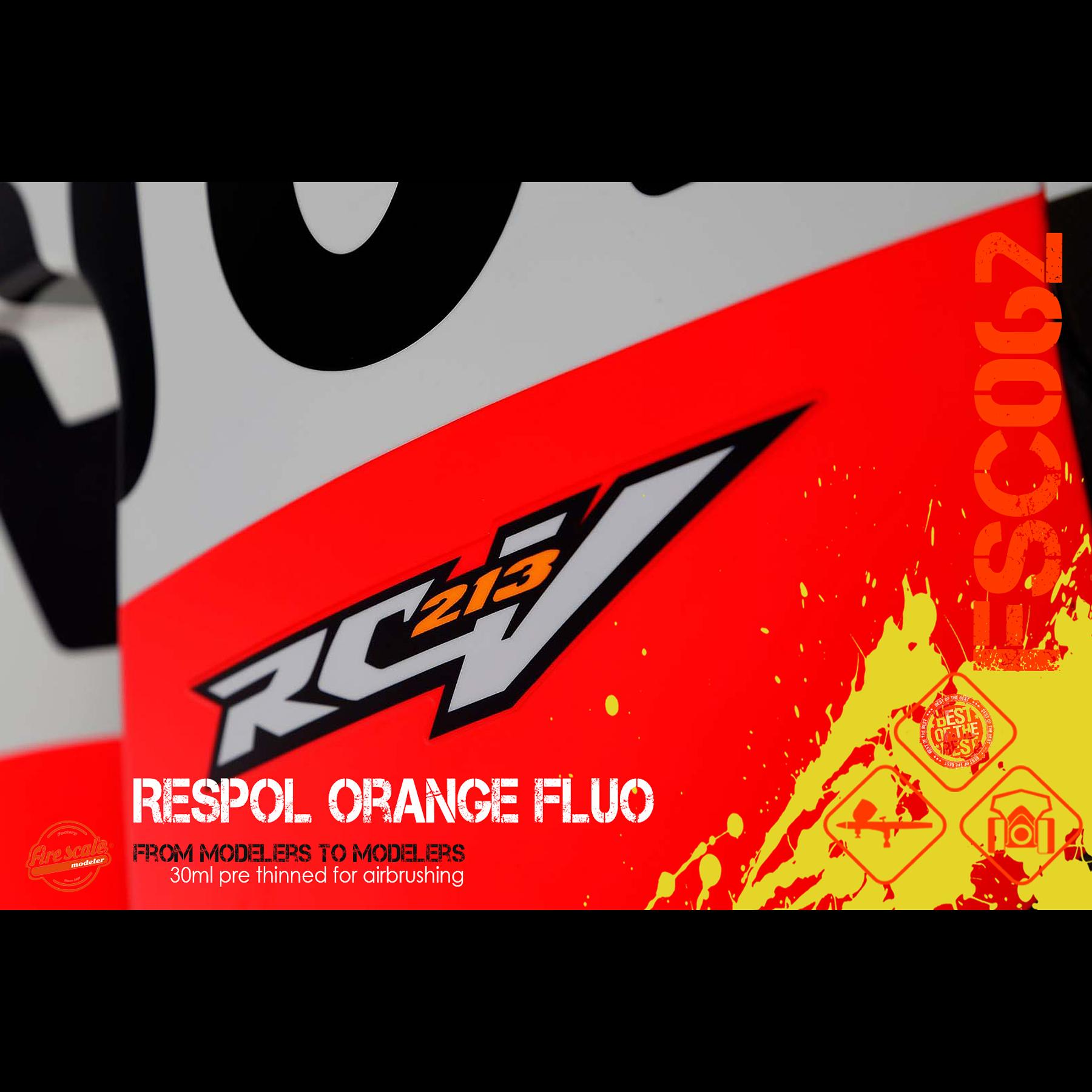 Naranja Fluo Repsol