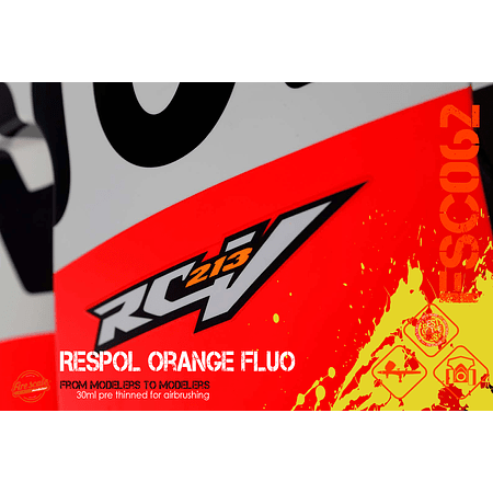 Orange Fluo Repsol