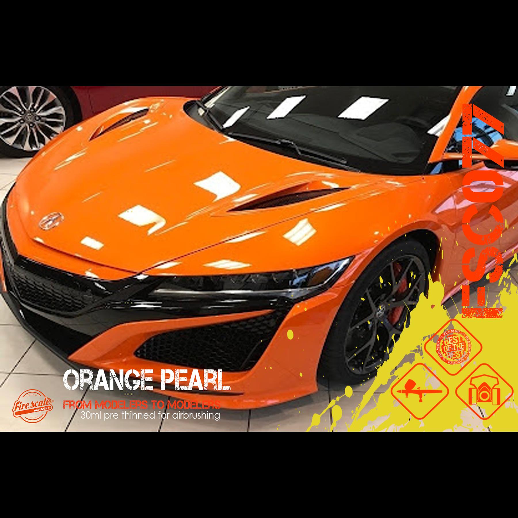 Orange nacré
